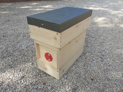 Untreated 5 Frame Nucleus Hive