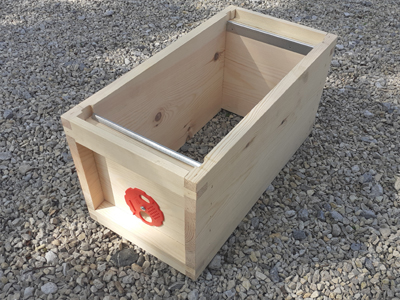 Half Brood Box with Entrance Disc