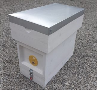 5 Frame Nucleus Hive Painted